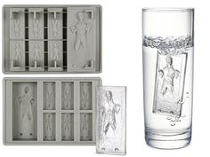 Do want. all these cool ice trays..