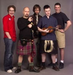 """(Soon to be renamed """"The Jubilee Riots"""") Enter The Haggis are a Canadian Celtic Rock band with Latin and metal influences. They have a great fiddle player who often incorporates traditional Canadian folk fiddle tunes into their live shows. Good band."""