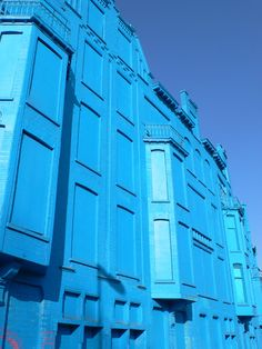 Wonderful This Building In Rotterdam Was Due To Be Torn Down. It Was Boarded Up And  Completely Painted Blue, Transforming It From An Eyesore Into A Temporaryu2026 Home Design Ideas