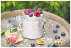 Bircher Müsli kann man Abends in größerer Menge herstellen und hat die nächsten Tage ein superleckeres, sättigendes und gesundes Frühstück.