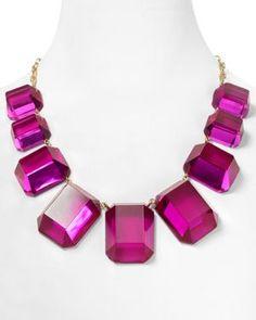 kate spade new york Jumbo Jewels Graduated Necklace