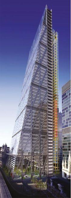 Harbour's Leadenhall, London, UK by Rogers Stirk Architect :: 48 floors, height 225m
