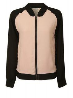 Just like Emeli Sande at the brit awards!  http://glamorous.com/pink-black-bomber-jacket.html