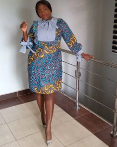 Style Inspiration from Diyanu - Ankara Dresses, Shirts & African Dresses For Kids, African Fashion Ankara, Latest African Fashion Dresses, African Dresses For Women, African Print Fashion, Africa Fashion, African Attire, African Clothes, Ankara Short Gown Styles