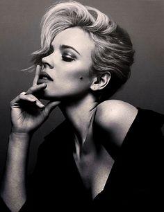 Imagem de rachel mcadams, black and white, and model