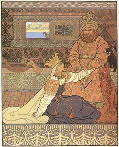 Былина Вольга_Царь и царица_1903