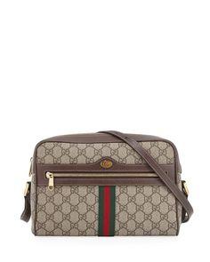 d80816b00a8 Gucci Ophidia Medium GG Supreme Camera Crossbody Bag