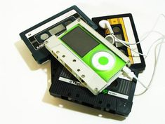 Transform old cassette tapes into ipod cases!