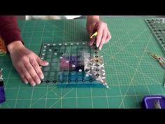 Vida com Arte | Peseira em patchwork por Eliana Zerbinatti - 18 de Maio de 2015 - YouTube