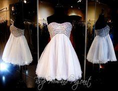 114DJ04440265 GRAY HOMECOMING DRESS