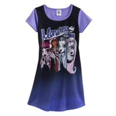 Monster+High+Nightgown+-+Girls, for D, $11