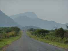 En route from Arusha to Dar es Salaam, Tanzania