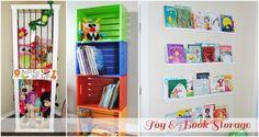Big Girl Room Storage Ideas