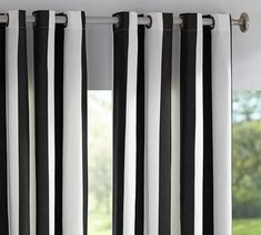 "Option #2 for curtains: 108"" Sunbrella® Indoor/Outdoor Grommet Drape 