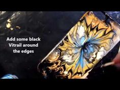 Pebeo Fantasy Phone Covers by Michelle Grant - YouTube