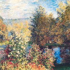 Corner of the garden  - Monet Claude (1840-1926) - STAMPA SU TELA  € 21,67