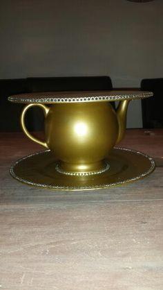 Gouden taart plateau