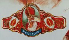 Sinterklaas 'illustratie' sigarenband