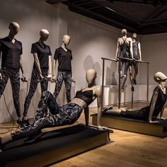 """HANS BOODT MANNEQUINS, Zwijndrecht, The Netherlands, """"The Movement and Blend Collection"""", (Dynamic characters, designed to move!), pinned by Ton van der Veer"""