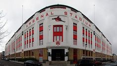 """One of the best old grounds in the EPL. Miss watching games there on the TV. The Emirates trying to follow suit. """"Highbury Stadium"""""""