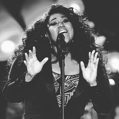 """""""Being on stage, for me, is really about being in the moment and being honest about where you are."""" - @jsullivanmusic  #JazmineSullivan #WHM #RealityShow"""
