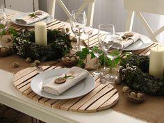 Wielkanocny Stół w stylu eko