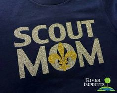 Show your Scout Mom pride in this super soft cotton crewneck in your choice of 2 shirt styles, 2 super sparkly colors, and shirt color. Choose from a Regular Adult Unisex tee or Ladies' Fitted te Tiger Scouts, Cub Scouts, Girl Scouts, Wolf Scouts, Daisy Scouts, Scout Mom, Scouts Of America, Scout Leader, Eagle Scout