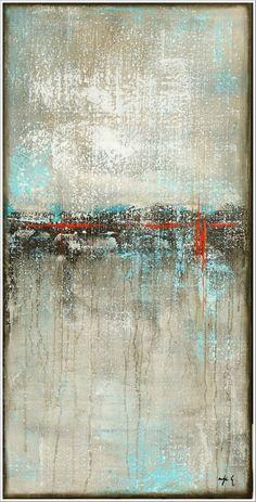 ANTJE HETTNER* Bild ORIGINAL Kunst GEMÄLDE modern MALEREI abstrakt XXL Acryl NEU