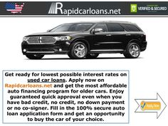 Used Car Loans - Every American Aspires to Own a Car