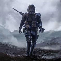 Stormotrooper alone