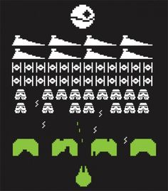 videogame retro star wars