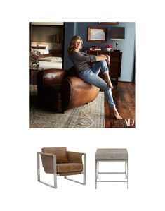 Interior design inspired by Jennifer Aniston's house tour. Shop the look at Avenue Design Jennifer Aniston House, Avenue Design, Find Furniture, Own Home, Luxury Travel, House Tours, Interior Design, Inspired, Chair