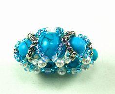 Free pattern for beautiful beaded bead Mediterra       [ad#Ads_post]         [ad#Adsense3]
