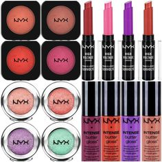 New Nyx makeup for 2015, available on Ulta.com