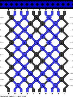 10 strings 12 rows 2 colors