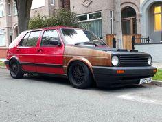 VW Golf mk2 ratlook