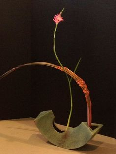 Ikebana Japanese flowers arrangement