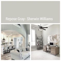 New Painting Ideas For Walls Living Room Grey Repose Gray Ideas Room Paint Colors, Paint Colors For Home, Living Room Colors, Living Room Paint, Living Room Grey, Living Room Decor, Dining Room, Wall Colors, Interior Paint Colors For Living Room