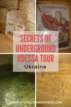 Odessa catacombs Secret of Underground Odessa tour Ukraine #Ukraine #Odessa