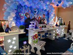 Tema Frozen - Decoração de festa de aniversário infantil - Festa Infantil Lugh