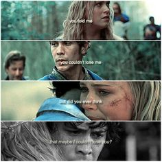 BELLARKE ❤️❤️❤️❤️ They can't lose EACH OTHER. Bellamy and Clarke just need to have a moment about when they just sit and talk about their feelings. Ya know? Hopefully that happens in SEASON 4. What moments with which characters do u want? Comment below?