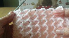 Punto fácil para mantas en crochet-2 (Como terminar la manta)