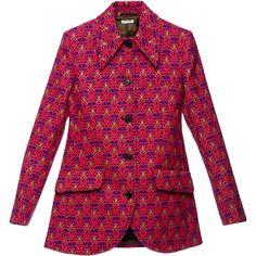 Miu Miu Jacket ($1,960) ❤ liked on Polyvore