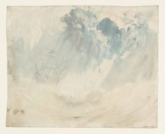 ship in a storm  241x300mm  1826  JMW Turner