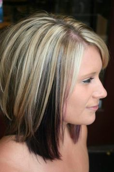 Thinking bout doing this to my hair..its kinda like what o had before I went all dark!