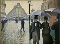 Calle de París, día lluvioso. Gustave Caillebotte.