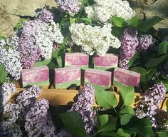 Sheabutter soap with lilac FO