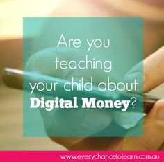 Digital money Parenting, Age, Teaching, Money, Digital, Children, Health, Blog, Young Children