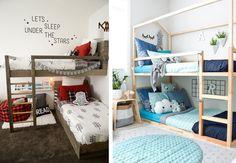 Kura Ikea, Sleeping Under The Stars, Bunk Beds, Loft, Furniture, Home Decor, Decor Room, Infant Room, Wall Papers