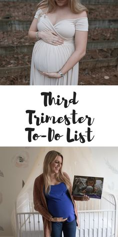 Third Trimester To-Do List - Casual Claire